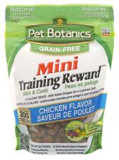PET BOTANICS - Mini Training Reward Chicken Flavor Dog Treats Grain Free - 4oz