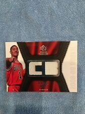 2008-09 SP ROOKIE THREADS JERSEY PATCH DERRICK ROSE RC