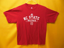 ADIDAS NC STATE WOLFPACK T-SHIRT COLLECTIBLE TEE (MEDIUM)