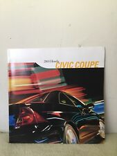 2003 Honda Civic Coupe Sales Brochure