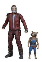 Marvel Select Guardians of the Galaxy 2 Star-Lord & Rocket Action Figure Set