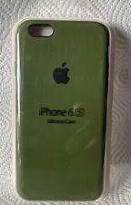 Original Apple iPhone 6 / 6s Silikon Case in Kaktusgrün