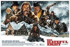 Jason Edmiston The Hateful Eight Tarantino Mondo Poster Print