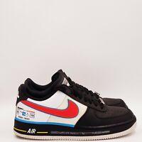 Nike Men's Air force one Racing Shoes Size 7.5 Medium Black B264 EBO