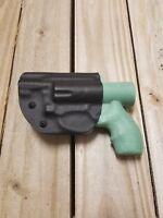 Ruger LCR/LCRX .357, .38, .327, .22, 9mm Concealment Black Kydex IWB holster RH