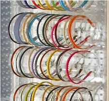"""Count of 4, 15.75"""" wide 5""""diameter Acrylic Headband Holder Display for Counter"""