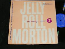 JELLY ROLL MORTON Riverside Lp The Pearls Vol 6 LIBRARY OF CONGRESS New Orleans