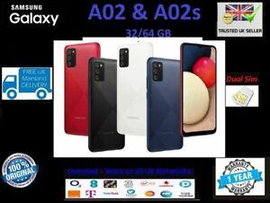 New Samsung Galaxy A02 A02s 32GB 64GB Unlocked DualSIM 2021 Black Blue Red White