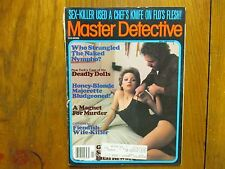 "May, 1984 ""Master Detective"" Mag(CHRISTINE  FALLING/DARRELL DEVIER/JAMES FREEMAN"