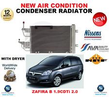 FOR ZAFIRA B AIR CONDITION CONDENSER RADIATOR 2005->2014 1.9 CDTi 2.0 OE QUALITY