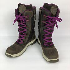 Santana Canada Mohawk Women's Brown Leather Mid Calf Waterproof Boots Size 8
