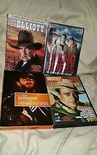 western pack dvd 28+ movie lot young riders season 1 Eastwood Wayne elliot
