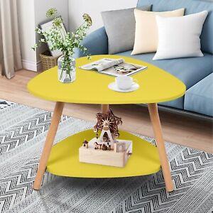 Modern Simple Coffee Tea Table End Table Wood Home Decoration Sofa Side Table