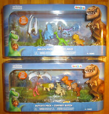 DISNEY THE GOOD DINOSAUR EXCLUSIVE FIGURE SETS BUTCH'S & ARLO'S PACK JACK POPPA