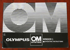 Olympus Om Winder 1 Instruction Book/126190