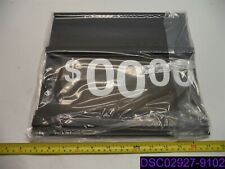 Qty = 40: Black Spiral Sidekick Sign Board P/N 3800007009, 3809257604