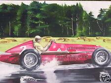 Alfa Romeo 159 pintura al óleo originales