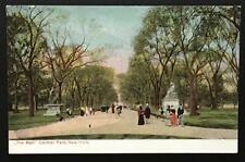 The Mall Central Park New York 1665