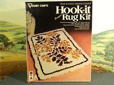 "Vintage Vogart Crafts Hook-it Latch Hook Kit #4322 ""Autumn Leaves"" New in Box"