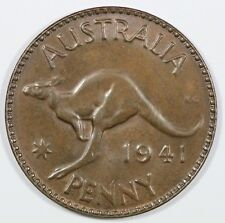 Australia 1941 (M) Penny, Brown Uncirculated