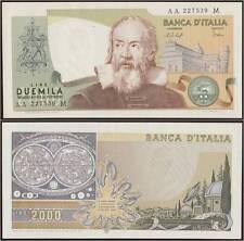 2000 LIRE 9/1/1976 GALILEO GALILEI AA...