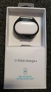 Fitbit Charge 4 Advanced Fitness Tracker - Granite Woven Band/Classic Band