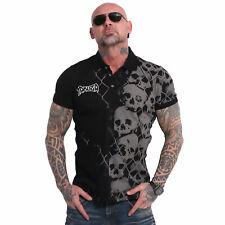 Neues Yakuza Herren Killing Fields Polo Shirt – Schwarz