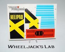 Metroplex Decal Sticker Sheet G1 Transformers 1985 Vintage Hasbro Action Figure