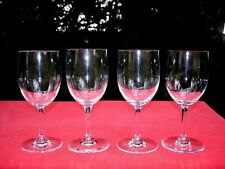 BACCARAT PERFECTION 4 WINE CRYSTAL GLASSES WEINGLÄSER VERRES A VIN CRISTAL UNIS