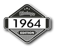 Vintage edition 1964 rétro classique cafe racer style vinyle moto autocollant voiture