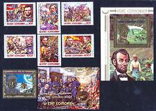 COMORES (ÉTAT COMORIEN) - Bicentenaire Indépendance États-Unis (3e Série) - 1976