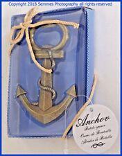 Kate Aspen Anchor Nautical Themed Bottle Opener New in Box as shown