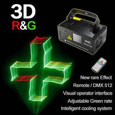 SUNY DMX 3D Effect 250mW RGY Laser Show DJ Disco Party Light Project TDM-RGY250