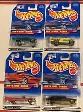 Hot Wheels  LOW 'N COOL  lowriders   '59 Caddy, Mini Truck, '59 Impala, Limozeen