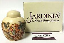 Jardinia Martin Perry Studios 'Puppy Litter' Dog Trinket Pot Jar Cache Box