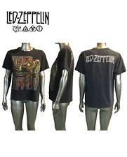 Led Zepplin Vintage T Shirt, Size M, Alstyle Apparel, Black