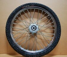 "Pair Horse Cart Heavy Duty Bike tires 20""x2.125""/5/8& #034;Axle, 3""Hub w/Roll Bearings"