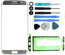 Front Outer Glass Screen Replacement Repair Kit Samsung Galaxy S7 Edge Silver
