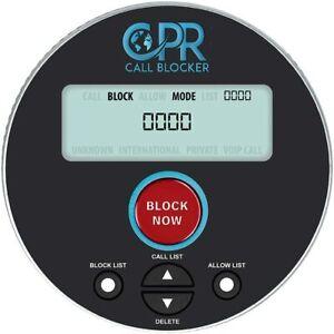 CPR V10000 Call Blocker for Landline Telephone - Block Robocalls, Unwanted Calls