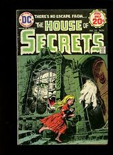 House of Secrets 125 1974,DC Comics,Catch as Cats Can,Horror! ^1 Book Lot^