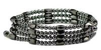 "36"" Black Wrap Around Hematite - Magnetic Therapy Bracelet or Anklet"