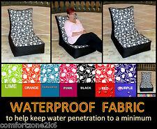 Zippy Waterproof Beanbag Tulip Chair Wipe Clean Bean Bag Home & Garden Furniture