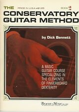 The Conservatory Guitar Method Book 2 by Dick Bennett