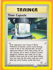 Unlimited Pokemon 1 x TIME CAPSULE   # 90/111 Rare card Neo Genesis Never Played