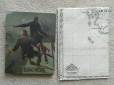 PS4 XBOX Dishonored 2 Steelbook & Cloth Map - NO GAME