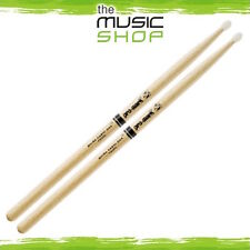 New Set of Promark Shira Kashi Oak 2B Drumsticks with Oval Nylon - PW2BN