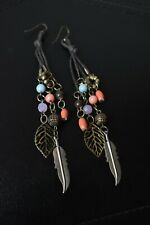 Tassel Fringe Dangle Earrings Women's Fashion Bohemian/Boho Earrings Long