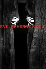 EVIL REVENGE Curs SPELL Talisman BLACK VOODOO MAGICK WORKS FAST Protection 4 You