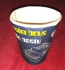 Rare Vintage Collectible Beastie Boys Hello Nasty Nyc To-Go Coffee Cup Snl 11/21