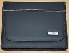 GENUINE AUDI A8 S8 S3 S4 RS4 RS6 SQ7 SQ5 HANDBOOK DOCUMENT FOLDER WALLET DELUXE